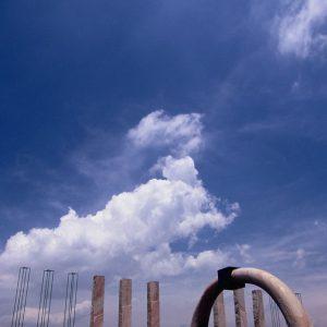 入選 「風の門」 馬場 寛