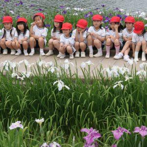 心あたたまるで賞 「初夏の亀鶴公園」 斉藤 延子