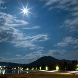 ええ景色賞 「月夜の松原」 金本 清