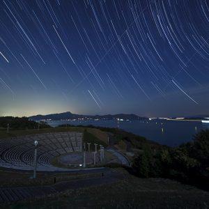 テーマ最優秀賞(景色) 「星夜_静かなるテアトロン」 高崎 彰