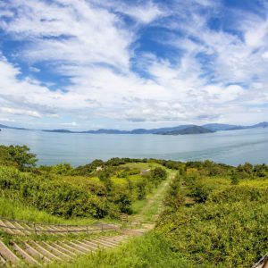 佳作 「大串半島から望む穏やかな瀬戸内海」 tsuru_gram_