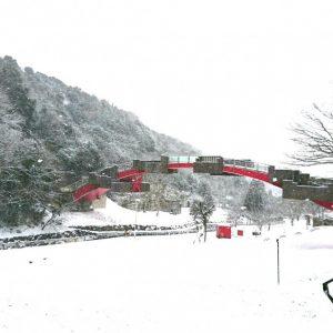 入選 「雪月風花『門入の雪景色』」 simadamakoto