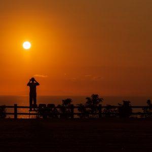 入選 「朝陽を撮る」 taketya