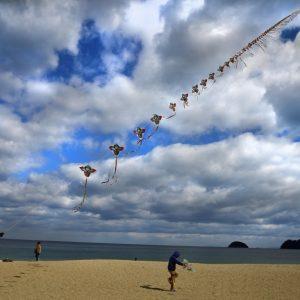 テーマ最優秀賞(祭り・歴史・文化) 「凧揚げ大会」 中山 洋三