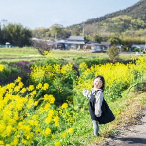 入選 「菜の花いっぱい」 ary.cam