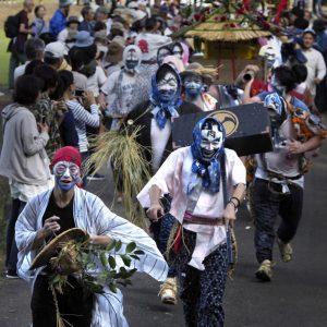 佳作 「疾走!秋祭り」 mee.ahtmh