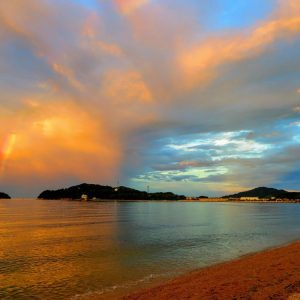 入選 「虹のある風景」 kemirumi7026
